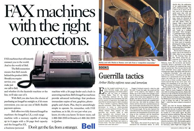 Article Preview: Guerrilla tactics, April 1990 | Maclean's