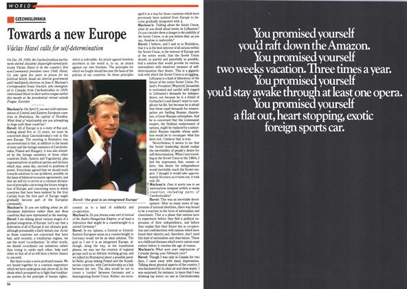 Article Preview: Towards a new Europe, April 1990 | Maclean's
