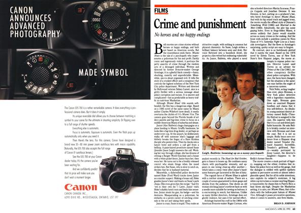 Article Preview: Crime and punishment, April 1990 | Maclean's