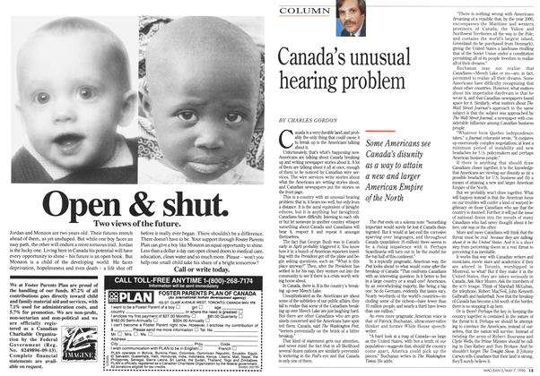 Article Preview: Canada's unusual hearing problem, May 1990 | Maclean's