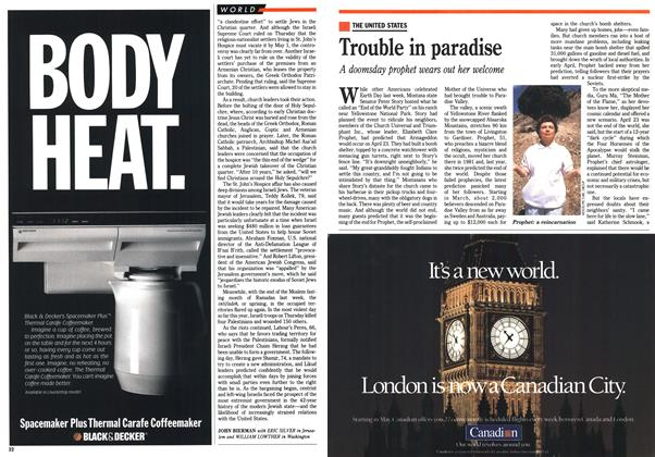 Article Preview: Trouble in paradise, May 1990 | Maclean's