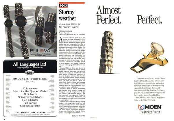 Article Preview: Stormy weather, May 1990 | Maclean's