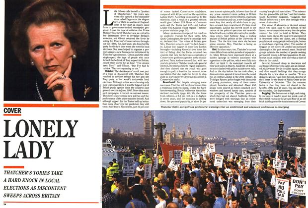 Article Preview: LONELY LADY, May 1990 | Maclean's