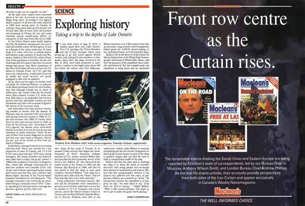 Article Preview: Exploring history, May 1990 | Maclean's