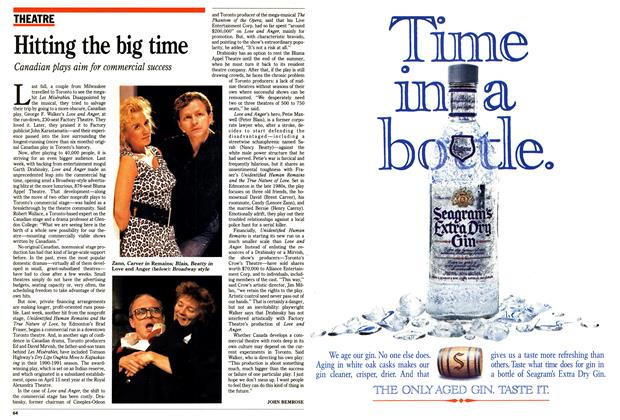 Article Preview: Hitting the big time, May 1990 | Maclean's