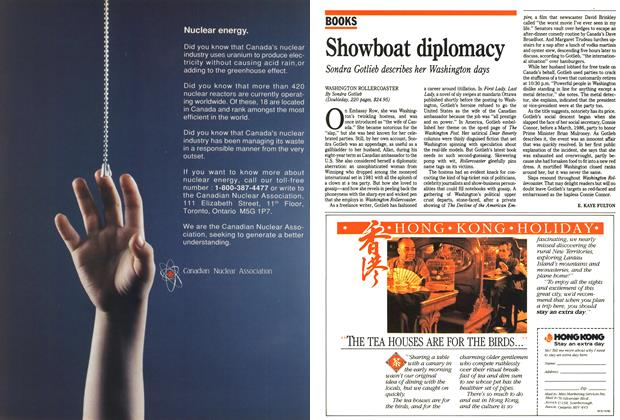 Article Preview: Showboat diplomacy, May 1990 | Maclean's