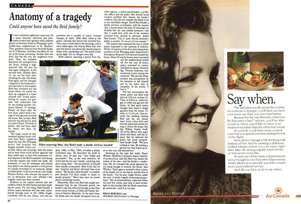 Article Preview: Anatomy of a tragedy, May 1990 | Maclean's