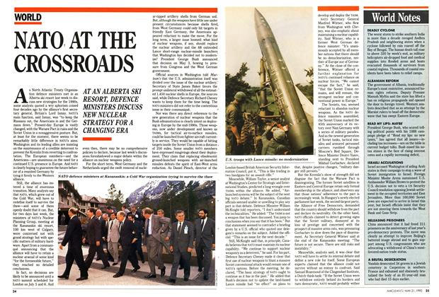 Article Preview: NATO AT THE CROSSROADS, May 1990 | Maclean's