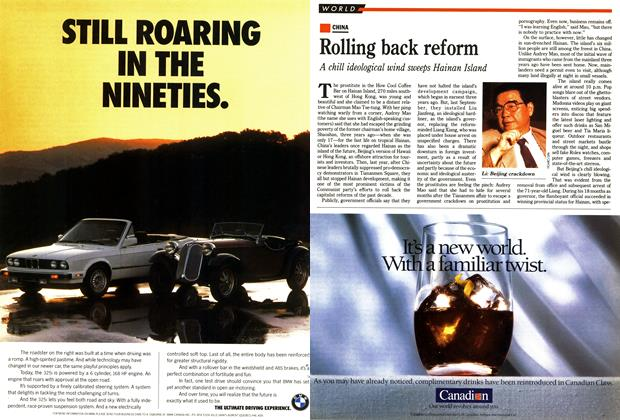 Article Preview: Rolling back reform, May 1990 | Maclean's