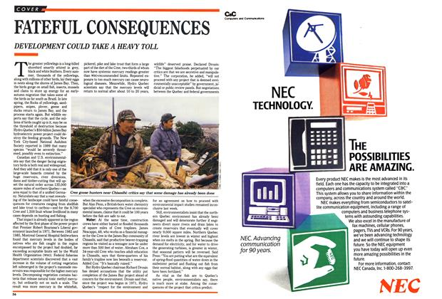 Article Preview: FATEFUL CONSEQUENCES, May 1990 | Maclean's