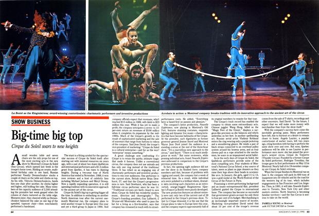 Article Preview: Big-time big top, May 1990 | Maclean's