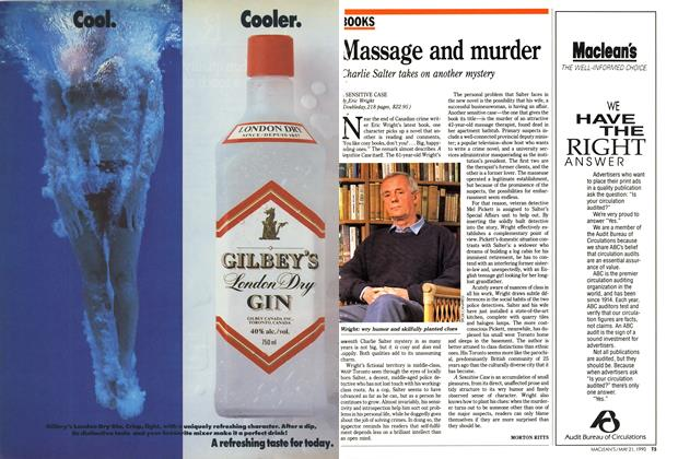 Article Preview: Massage and murder, May 1990 | Maclean's
