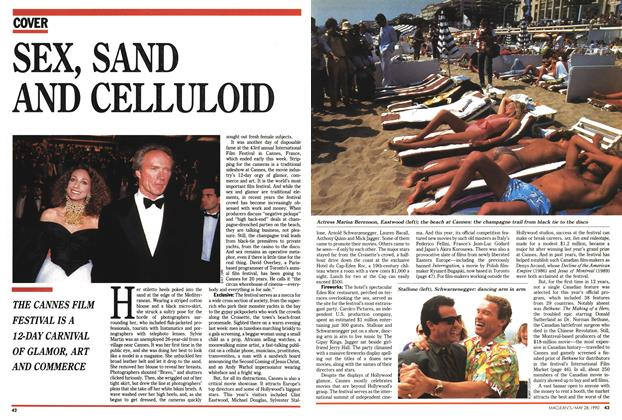 Article Preview: SEX, SAND AND CELLULOID, May 1990 | Maclean's