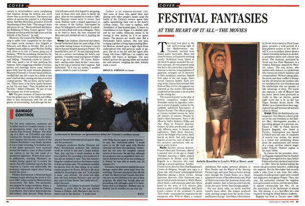 Article Preview: FESTIVAL FANTASIES, May 1990 | Maclean's