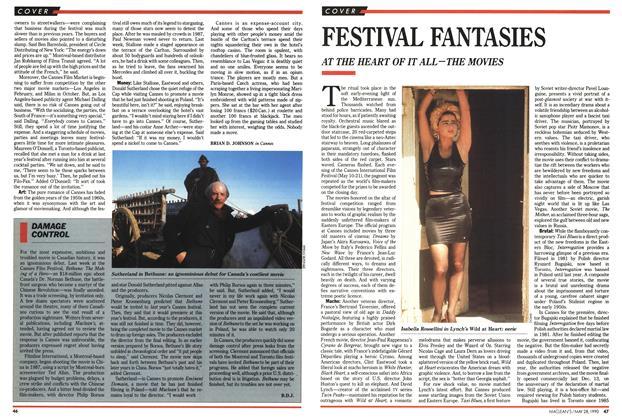 Article Preview: FESTIVAL FANTASIES, May 1990 | Maclean's