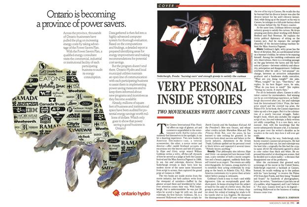 Article Preview: VERY PERSONAL INSIDE STORIES, May 1990 | Maclean's