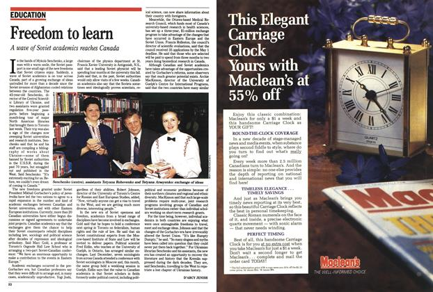 Article Preview: Freedom to learn, May 1990 | Maclean's