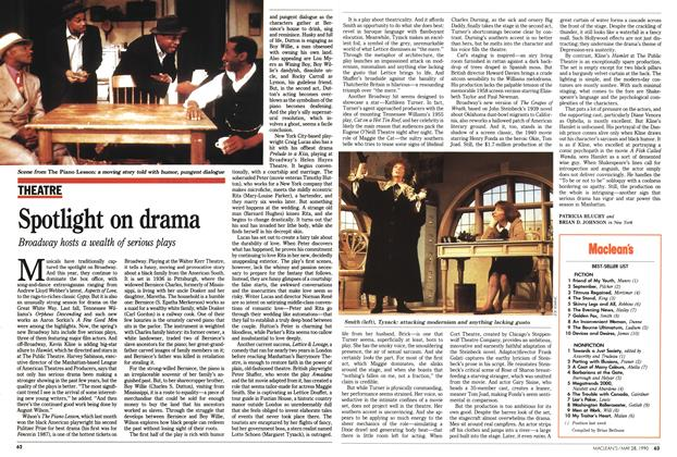 Article Preview: Spotlight on drama, May 1990 | Maclean's