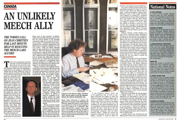 Article Preview: AN UNLIKELY MEECH ALLY, May 1990 | Maclean's