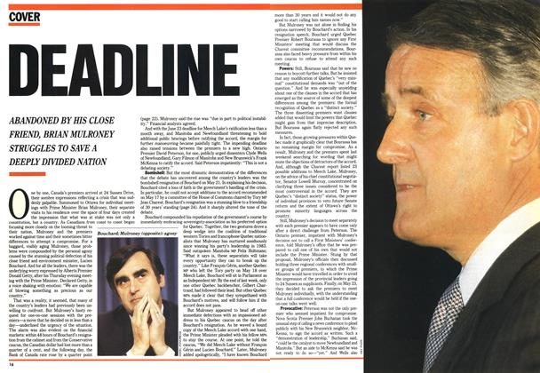 Article Preview: DEADLINE, June 1990 | Maclean's