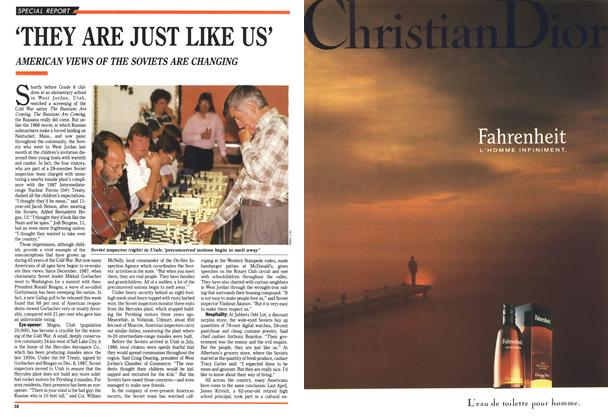 Article Preview: 'THEY ARE JUST LIKE US', June 1990 | Maclean's