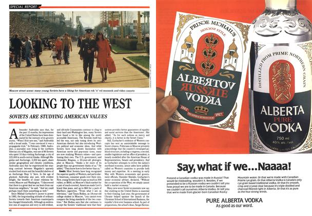 Article Preview: LOOKING TO THE WEST, June 1990 | Maclean's
