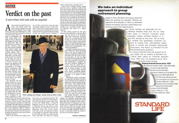 Article Preview: Verdict on the past, June 1990 | Maclean's