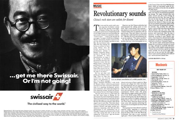 Article Preview: Revolutionary sounds, June 1990 | Maclean's