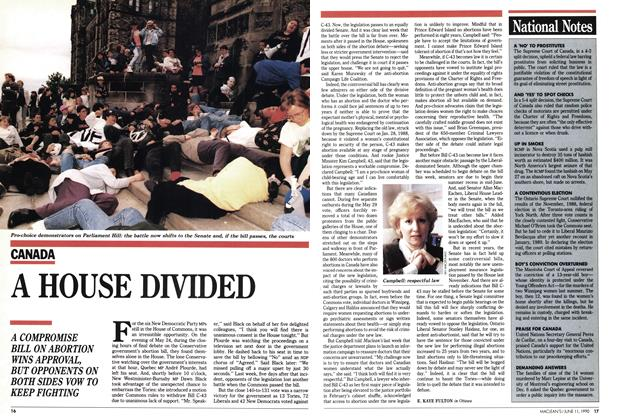 Article Preview: A HOUSE DIVIDED, June 1990 | Maclean's