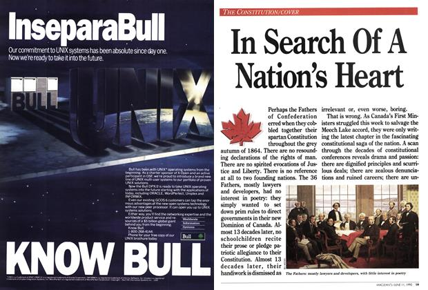 Article Preview: In Search Of A Nation's Heart, June 1990 | Maclean's