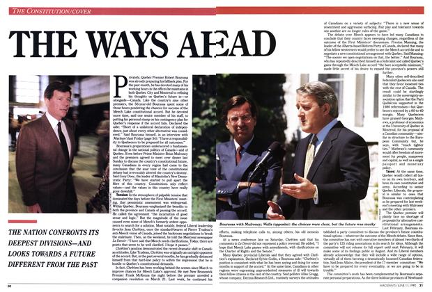 Article Preview: THE WAYS AHEAD, June 1990 | Maclean's