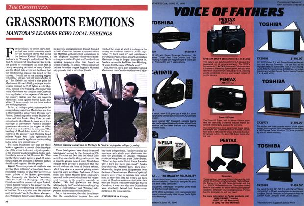 Article Preview: GRASSROOTS EMOTIONS, June 1990 | Maclean's