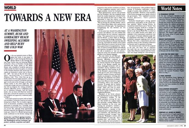 Article Preview: TOWARDS A NEW ERA, June 1990 | Maclean's