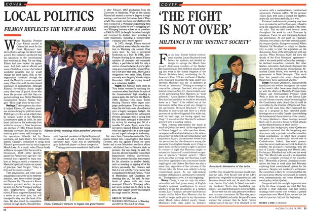 Article Preview: LOCAL POLITICS, June 1990 | Maclean's
