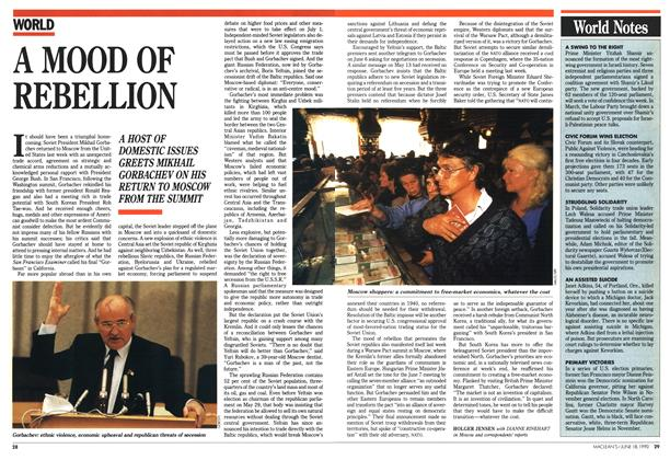 Article Preview: A MOOD OF REBELLION, June 1990 | Maclean's