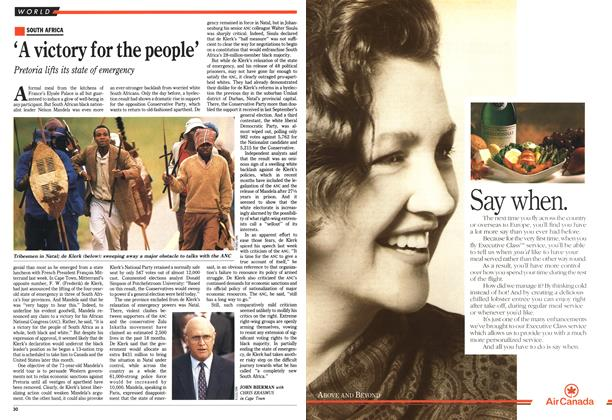 Article Preview: 'A victory for the people', June 1990 | Maclean's
