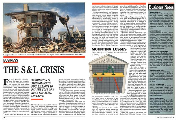 Article Preview: THE S&L CRISIS, June 1990 | Maclean's