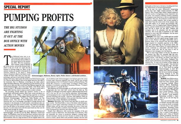 Article Preview: PUMPING PROFITS, June 1990 | Maclean's
