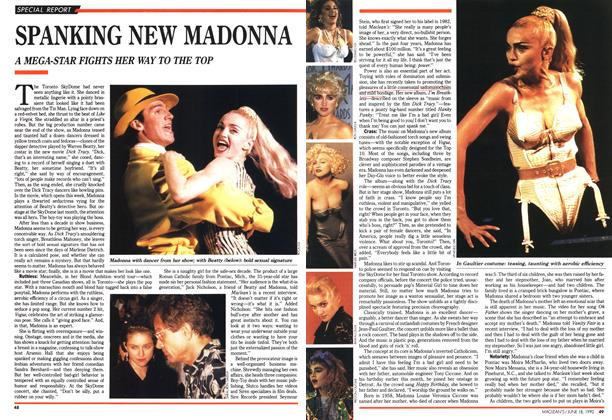 Article Preview: SPANKING NEW MADONNA, June 1990 | Maclean's