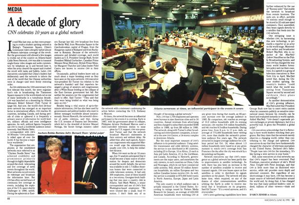 Article Preview: A decade of glory, June 1990 | Maclean's