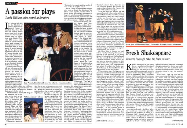 Article Preview: Fresh Shakespeare, June 1990 | Maclean's