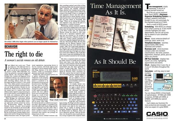 Article Preview: The right to die, June 1990 | Maclean's