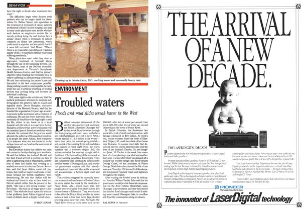 Article Preview: Troubled waters, June 1990 | Maclean's