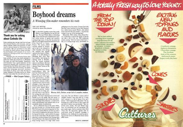 Article Preview: Boyhood dreams, June 1990 | Maclean's