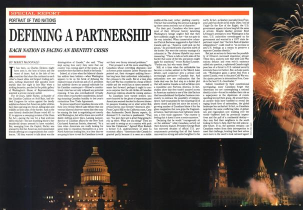 Article Preview: DEFINING A PARTNERSHIP, June 1990 | Maclean's