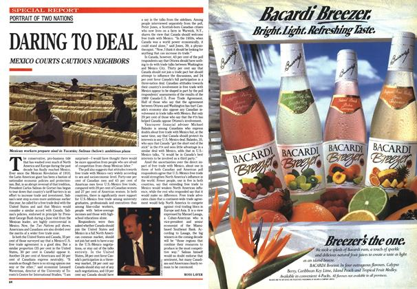 Article Preview: DARING TO DEAL, June 1990 | Maclean's