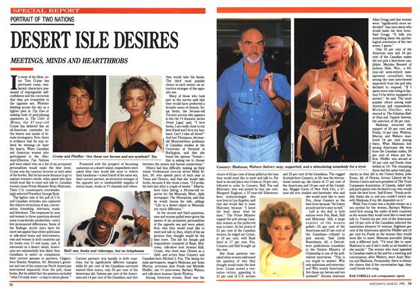 Article Preview: DESERT ISLE DESIRES, June 1990 | Maclean's