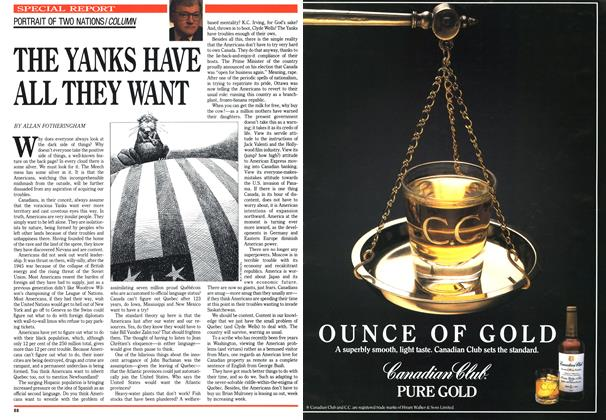Article Preview: THE YANKS HAVE ALL THEY WANT, June 1990   Maclean's