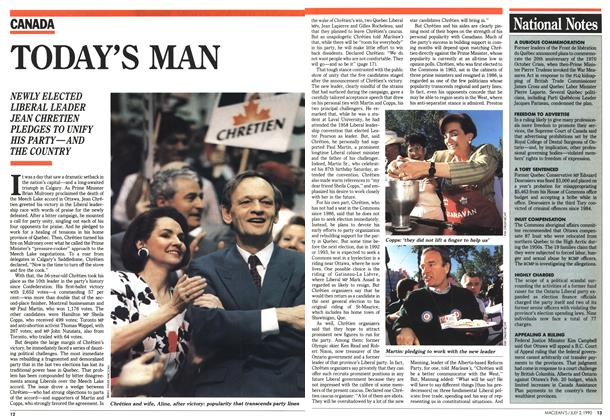 Article Preview: TODAY'S MAN, July 1990 | Maclean's