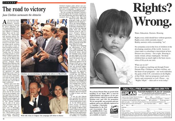 Article Preview: The road to victory, July 1990 | Maclean's